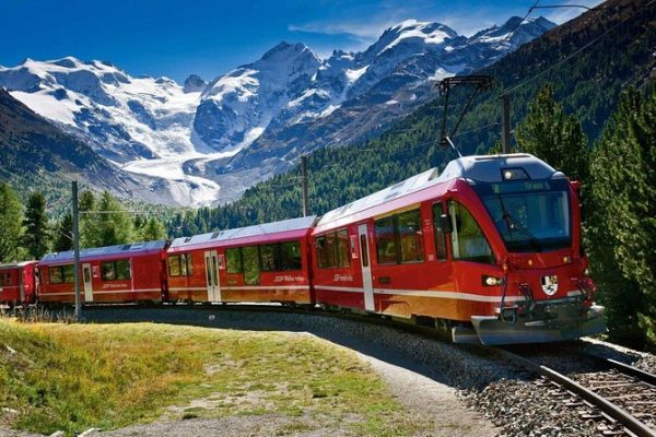 Alpes Bernina Express Milán Wish&Fly Italia
