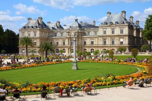 Palacio Jardines Luxemburgo París Wish&Fly