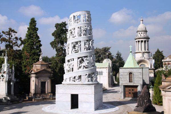 Tumba Cementerio Milán Wish&Fly Viaje Económico
