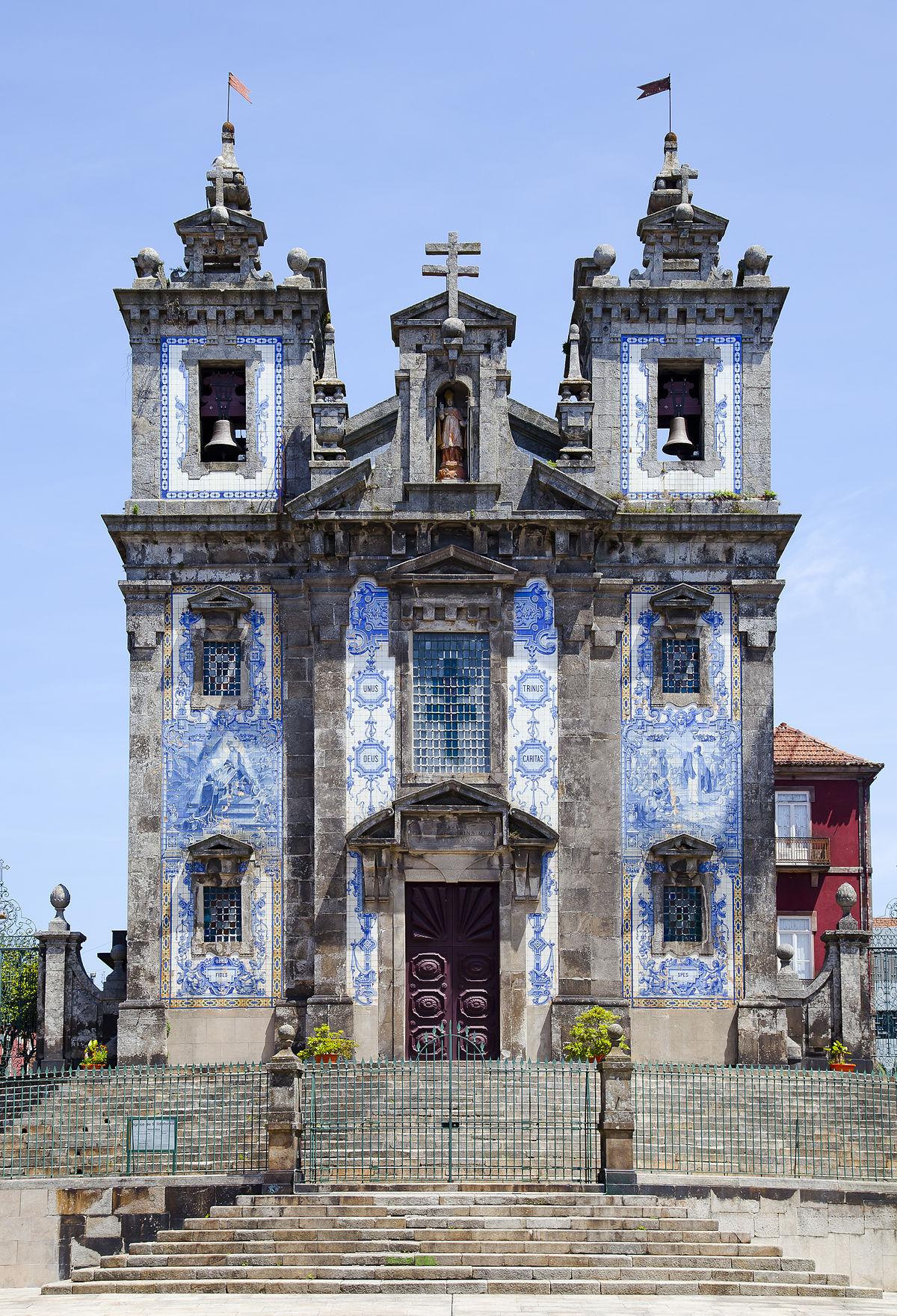Igreja Ildefonso Oporto Wish&Fly