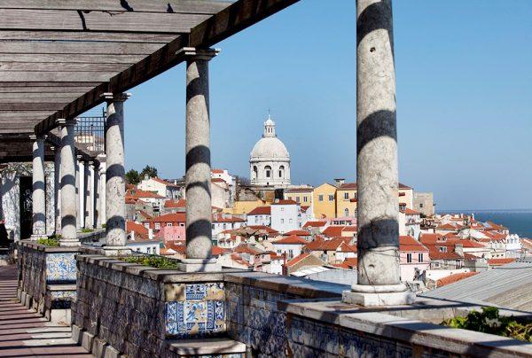 Mirador Santa Lucía Lisboa Viaje Sin Destino WishAndFlyPanteón Nacional Lisboa Escapada Sorpresa WishandFly
