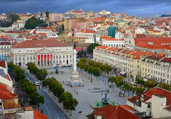 Plaza Rossio Lisboa Viaje Divertido WishAndFly