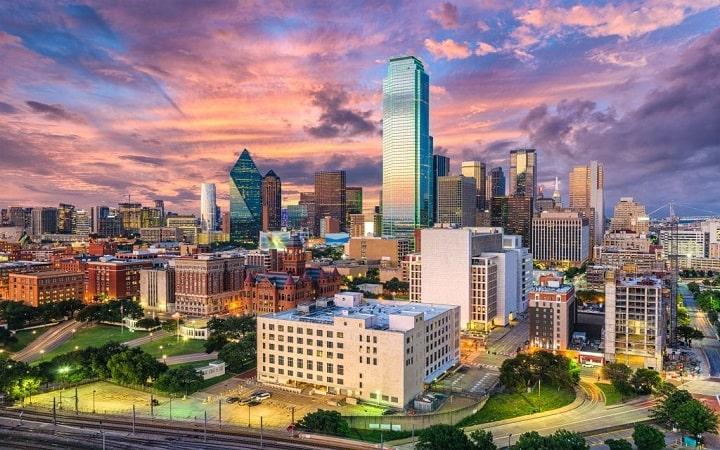 Souhait de voyage surprise à Dallas